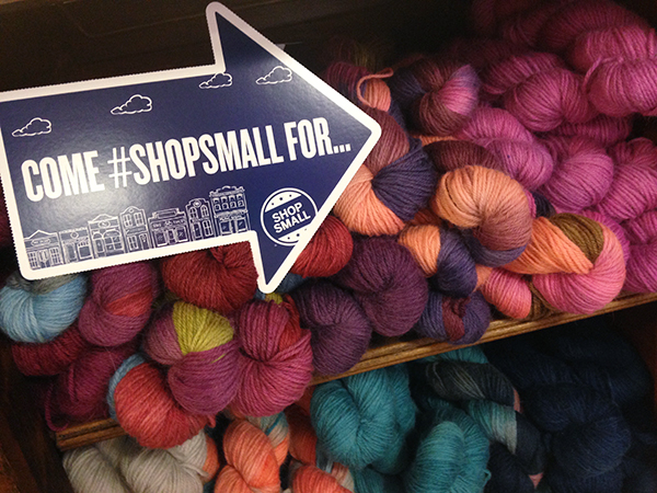 Shop Small for Yarn