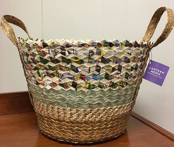 Recycled Paper Tote