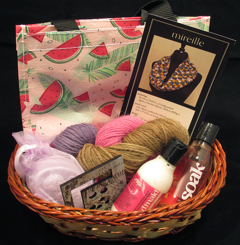 SWAK Gift Basket for Crocheters