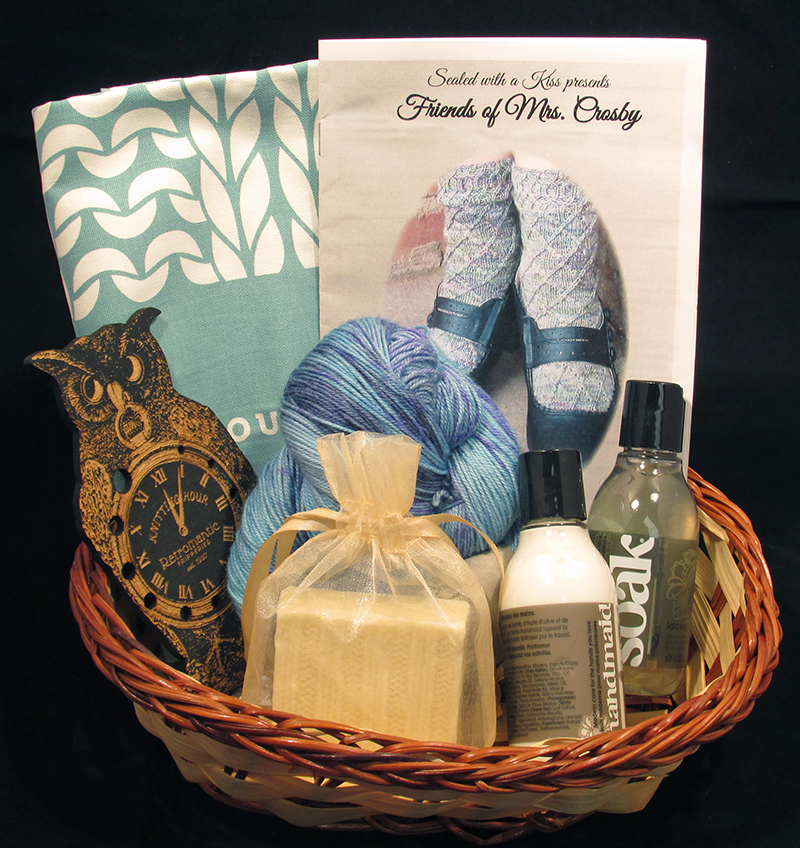 SWAK Gift Basket for Knitters