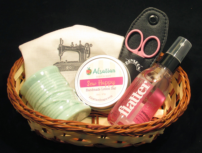 SWAK Sewing Gift Basket